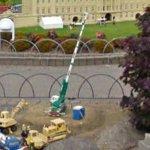 Lego Crane (StreetView)