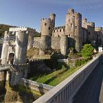 Conwy Castle (StreetView)