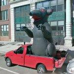 Union Rat (StreetView)