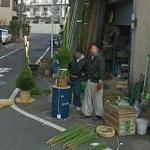 Making Kadomatsu (StreetView)