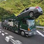 Car carrier (StreetView)