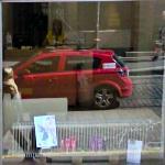 Google car reflection