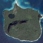 A sad looking island (Google Maps)