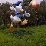 Giant Donald Duck (StreetView)