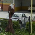 Giant birds (StreetView)