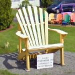 Big adirondack chair (StreetView)