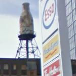 Bottle-shaped tank (StreetView)