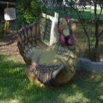 Giant chicken (StreetView)