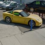 Chevrolert Corvette for sale (40995 U.S. dollars) (StreetView)