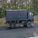 Military truck (StreetView)