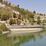 Arancio Lake Dam