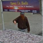 Names on shells (StreetView)