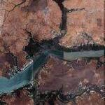 Gambia River (Google Maps)