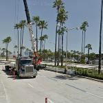 Grand Prix of Long Beach preparations (StreetView)