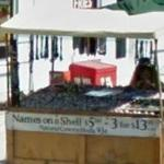Names On A Shell Cart (StreetView)
