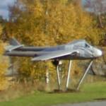 de Havilland Vampire (StreetView)