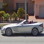 Mercedes SLR Roadster (StreetView)