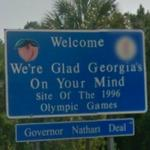 Welcome, We're Glad Georgia's On Your Mind, Georgia - Site of the 1996 Olympic Games