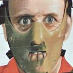 Anthony Hopkins as Hannibal Lecter in The Silence of the Lambs (StreetView)