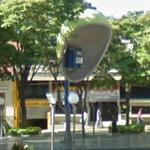 Giant public pay phone (StreetView)
