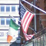Irish & US flags