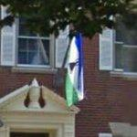 Flag of Lesotho (StreetView)