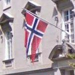 Flag of Norway (StreetView)