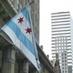Chicago flag (StreetView)