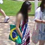 Brazilian flag bag (StreetView)