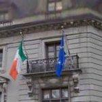 Flags of Ireland & European Union (StreetView)