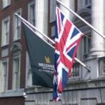 Millennium Hotel & UK flags