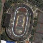 Cidade Universitária velodrome and tennis courts (Google Maps)