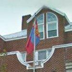 Flag of Mongolia (StreetView)