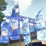 2009 Sydney Telstra 500 flags