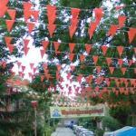 Orange street decoration!