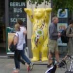 "Buddy Bear ""Welcome to Berlin"" (StreetView)"