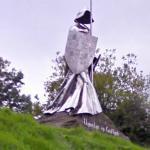 Monument to Llywelyn ap Gruffydd Fychan (StreetView)