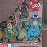 Graffiti with Face Blur