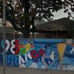 '98 FIFA World Cup mural