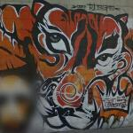Dan Plasma tiger: graffiti wars