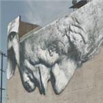 Mural by JR