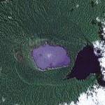 Mount Manaro volcano