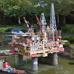Legoland Billund: Oil rig