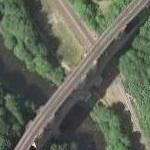2nd largest brick bridge in the world (Google Maps)