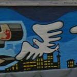 Graffiti by Kobie, Money & Zombie