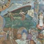 Mural on Amoeba Records