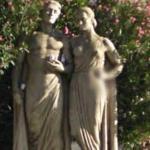 Praça de Londres statues (StreetView)