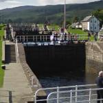Locks on the Caledonian Canal