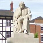 Statue of Dr. Samuel Johnson