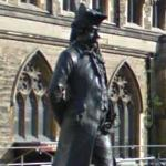 Statue of James Boswell (StreetView)